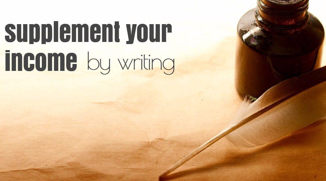 Alternative Income: Writing