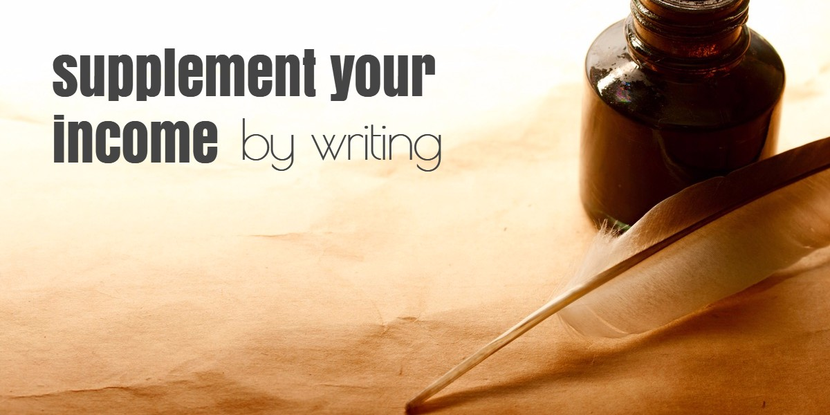 supplemental income by writing