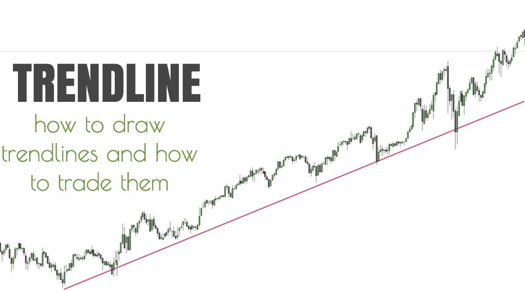 TrendLine – How to Draw a trend line and how to trade it